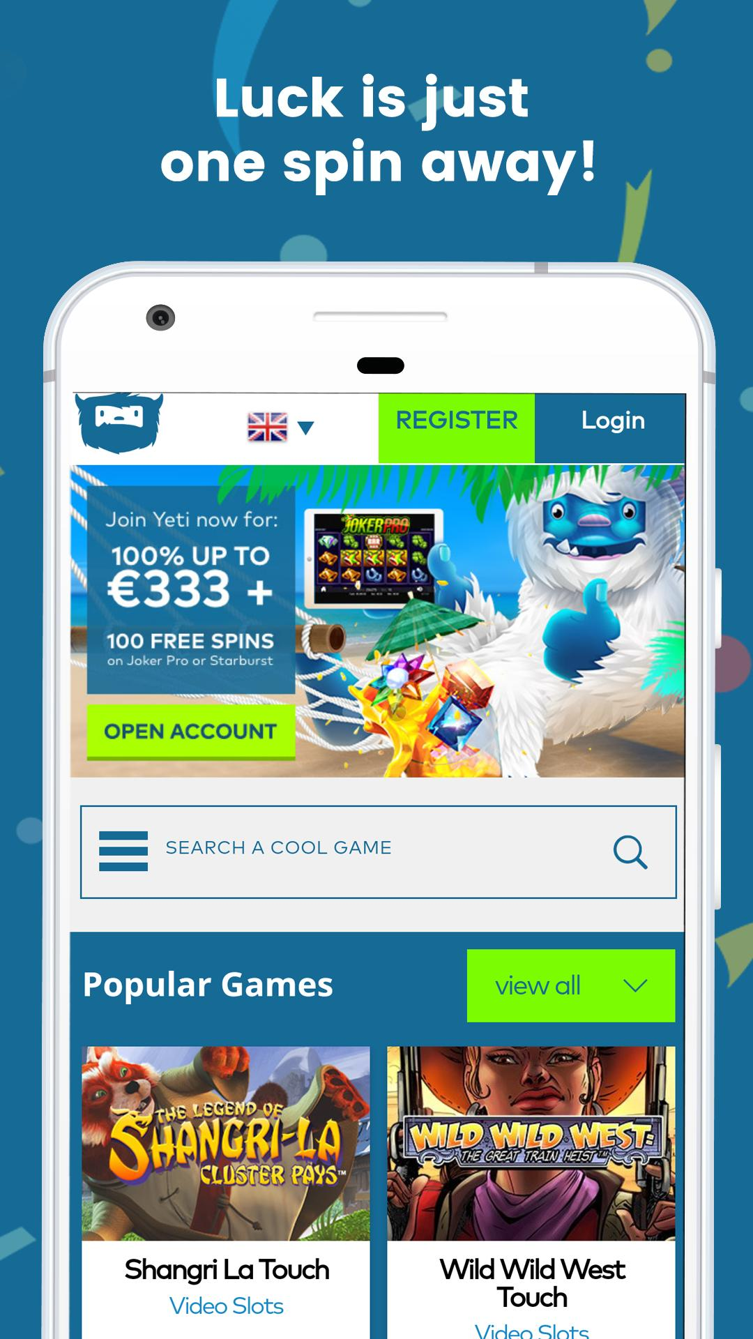 Party med freespins 564406